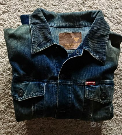 GUESS Jacket Velluto DENIM EFFETTO USED. New