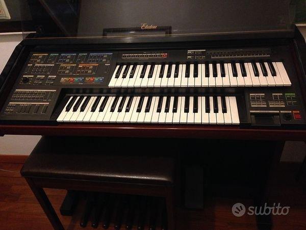 Organo Yamaha Electone MC-600