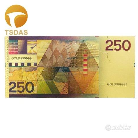 Paesi bassi banconota da 250 fiorini del 1985 -
