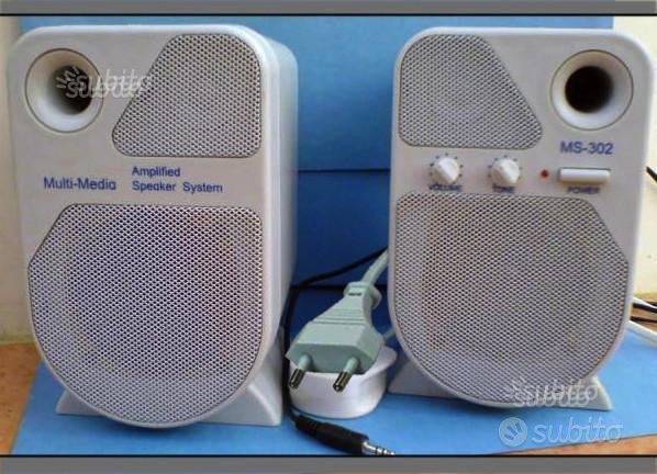 Speaker - Multi-media speakers ms-302
