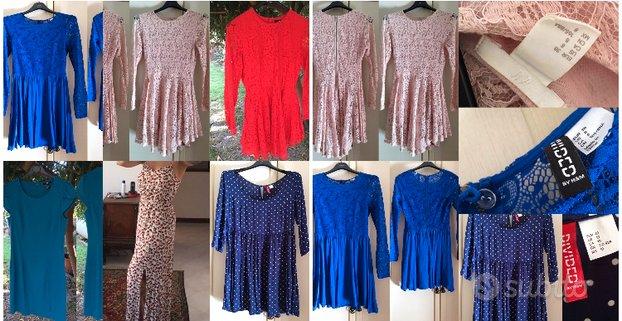 Lotto 9pezzi abbigliamento donna H&M