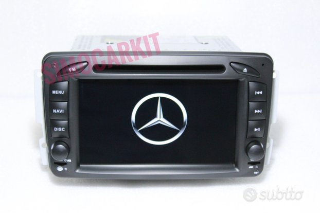 Stereo android 10 per mercedes c w203 w163 w168
