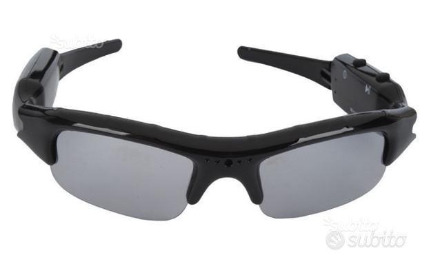 Occhiali videocamera integrata action sport cam