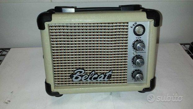 Amplificatore per strumenti musicali marca belcat