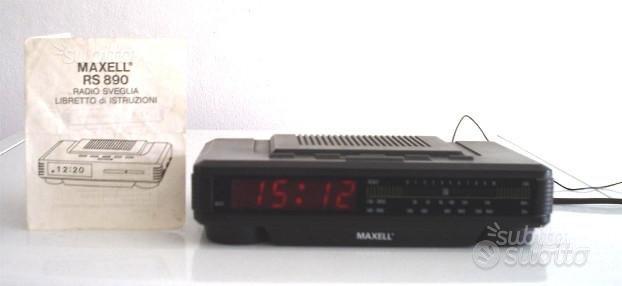 RadioSveglia Maxell AM-FM