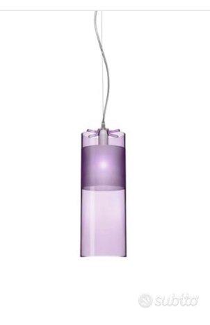 2 lampade a sospensione KARTELL modello Easy,Ferruccio LAVIANI