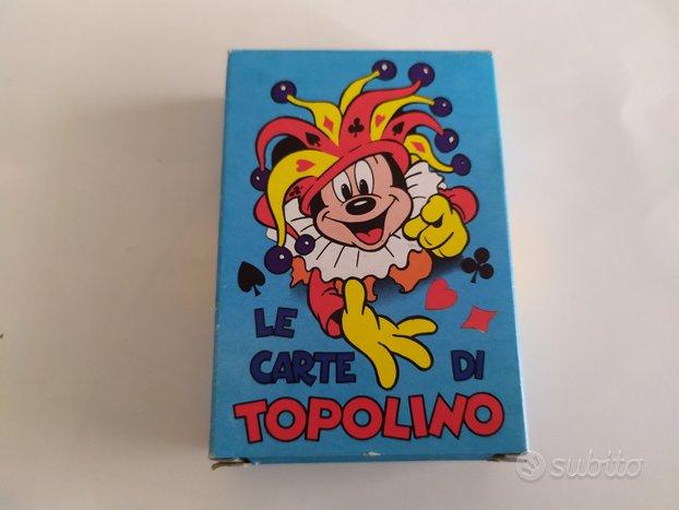 Carte da gioco Topolino 1979