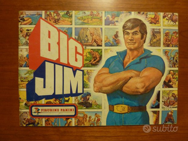 Album Figurine BIG JIM