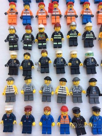 LEGO personaggi CITY anni 2000 e recenti