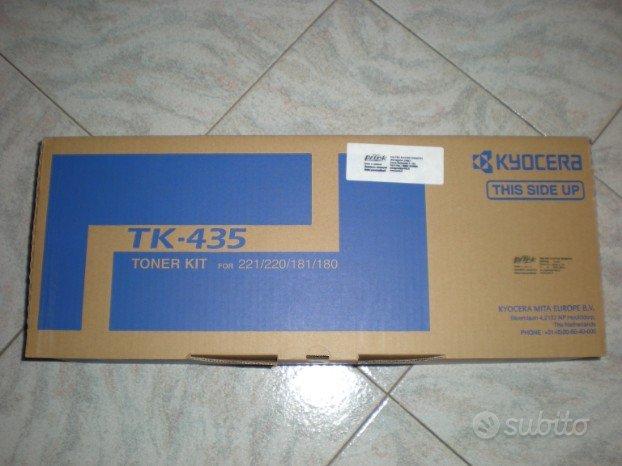Toner per stampante kyocera 221/220/181/180