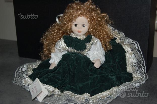Bambola di porcellana di Capodimonte da collezione
