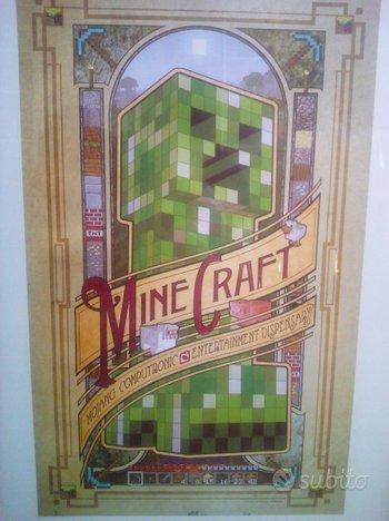 Poster Minecraft (38 x 61cm) cornice