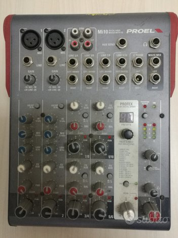 Mixer attivo PROEL Mi 10