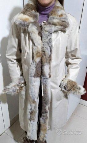 Cappotto da donna COCONUDA (VERA PELLE) tg. 40/42