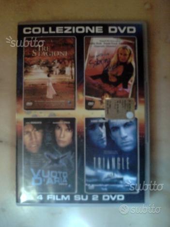 Cofanetto originale 2 DVD a doppio lato con 4 film