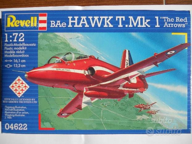 Hawk t.mk1 the red arrows 1/72 revell