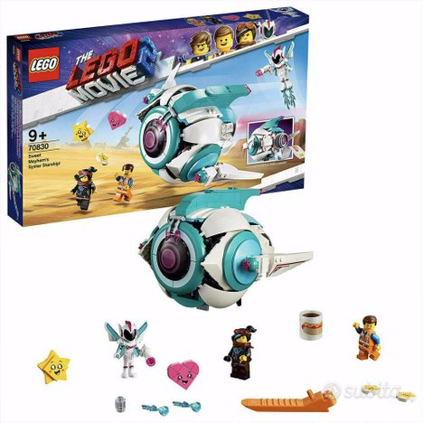 Lego movie 2 set 70830 astronave nuova sigillata