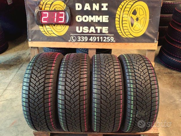 4 Gomme Usate 215 55 17 TERMICHE 90/99% FULDA