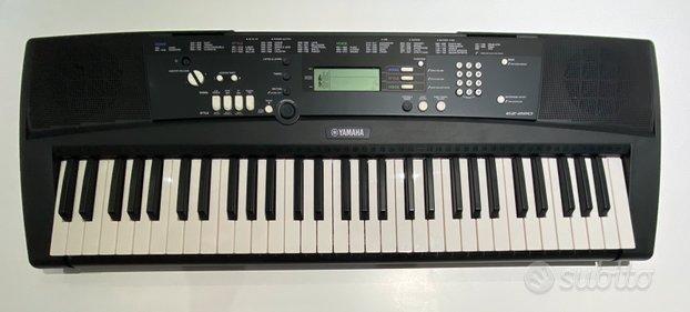 Tastiera Yamaha ez 220 con scatola e cavalletto