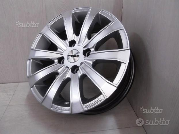"OF259 Cerchi in lega Momo Europe Silver 15"" 4x108"