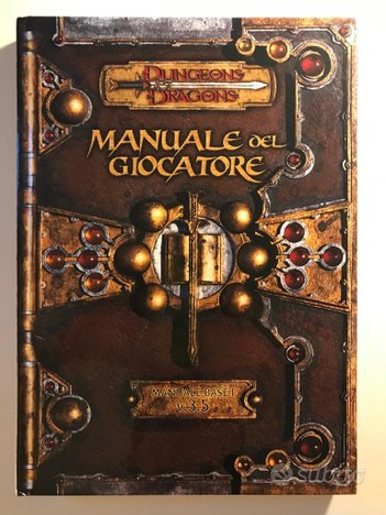 Dungeons & Dragons - Manuale del Giocatore v.3.5