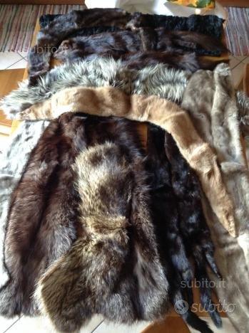 Collo pelliccia colli visone marmotta castoro volp