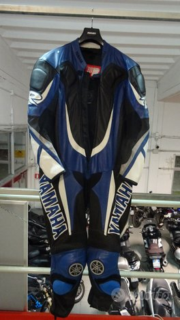 Tuta in pelle Moto Yamaha Racing