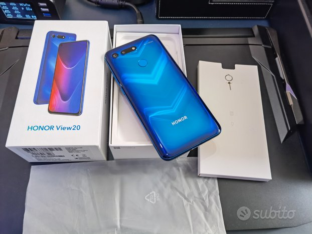 Honor VIEW 20 blu 8/256gb duos