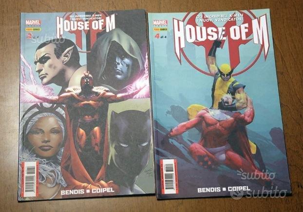 House of M, numeri 3 e 4