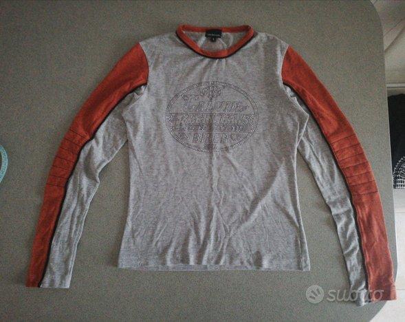 T shirt tee Ck CKJ Calvin Klein Jeans donna maglia