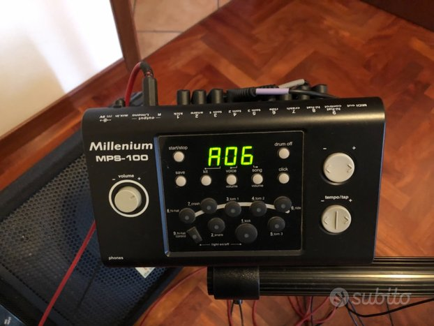 Batteria el. millenium mps100 con ampli the box