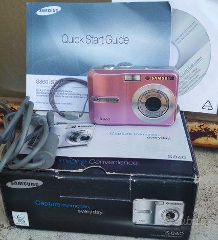 Fotocamera digitale Samsung S860