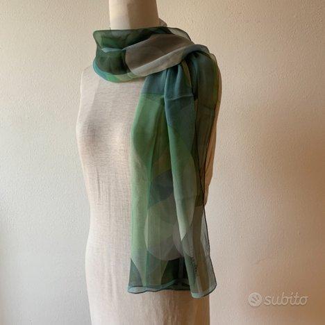 Foulard twilly bandeau sciarpa in seta nuovo