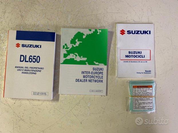 Uso e Manutenzione Suzuki V strom 650 Dl