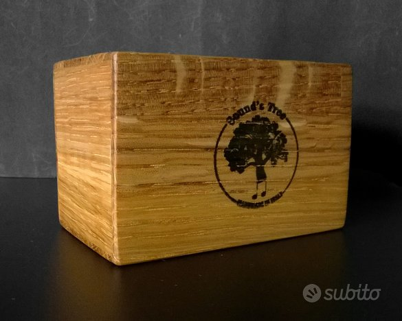 Shaker percussioni in legno