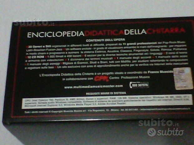 Enciclopedia Didattica della Chitarra ORIGINALE