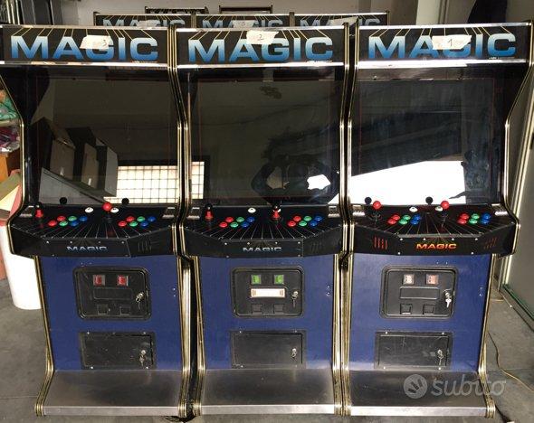 Mobile videogioco arcade vintage desig arredamento e for Vendita arredamento vintage