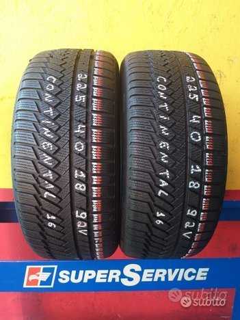 2 gomme 225 40 18 continental invernali