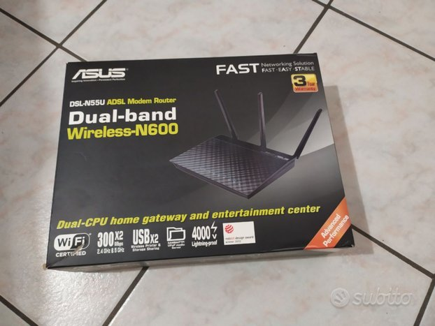 Modem router asus dsl-n55u wireless