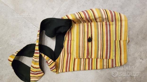 Coppia borse in tessuto