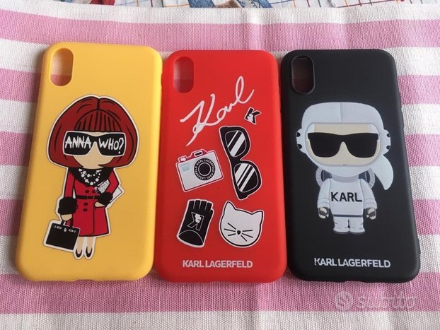 Cover iPhone X / XS Karl Lagerfeld