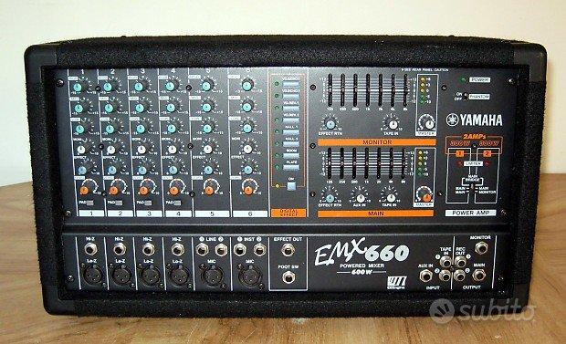 Mixer amplificato Yamaha 600W