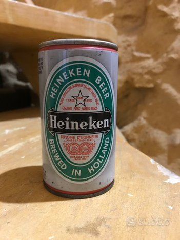 Rarissima lattina Heineken