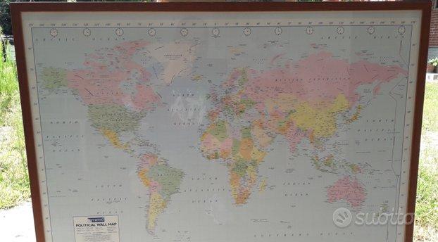 Cartina Mondo Trovaprezzi.Cartina Geografica Mondo Usato In Italia Vedi Tutte I 39 Prezzi