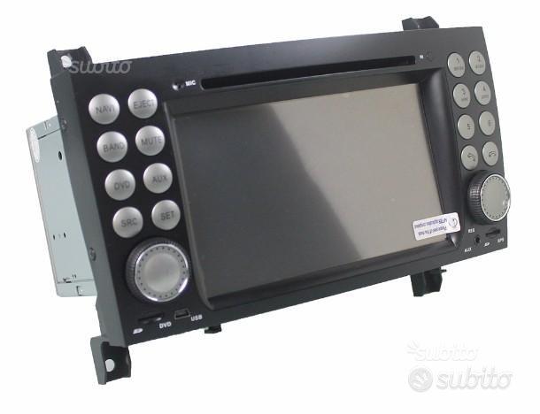Autoradio navigatore mercedes slk dvd usb wifi h3g