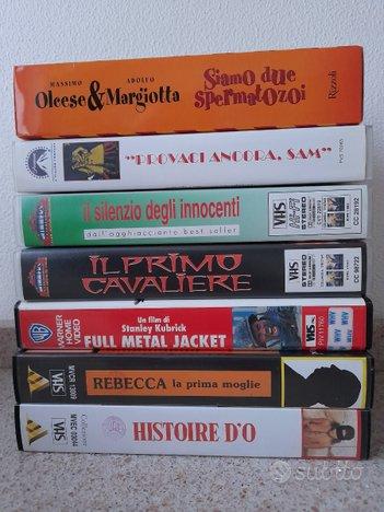 VHS originali vari film