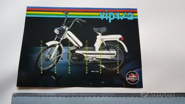 Garelli 50 VIP 1\2 1981 depliant ciclomotore epoca