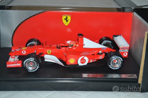 Hot Wheels 1/18 F1 Michael Schumacher F- 2002 Ferr