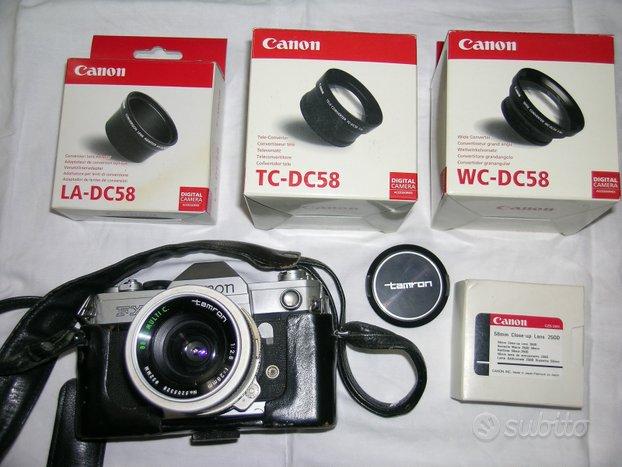 Canon fx con accessori
