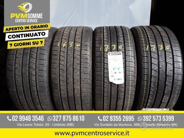 Gomme usate 275 40 22 108y continental